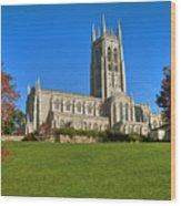Bryn Athyn Cathedral Pennsylvania Wood Print