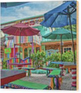 Bubble Room Restaurant - Captiva Island, Florida Wood Print