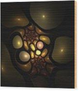 Bubbleshock 2 Wood Print