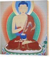 Buddha Kashyapa Wood Print
