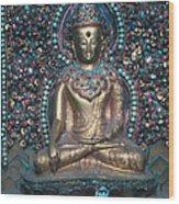 Buddhist Deity Wood Print