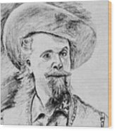 Buffalo Bill Wood Print