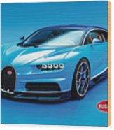 Bugatti Chiron 30 Wood Print