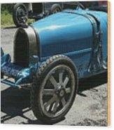 Bugatti Oldtimer Wood Print
