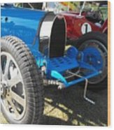 Bugatti Racer Wood Print