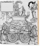 Burgkmair - Maximilian Wood Print