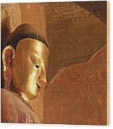 Burmese Buddha Wood Print