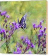 Butterfly Beauty Wood Print