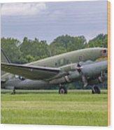 C-46 Commando Tinker Belle Wood Print