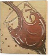 Cabernet Wood Print