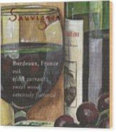 Cabernet Sauvignon Wood Print