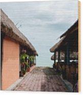 Calderitas Wood Print