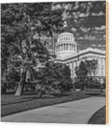 California State Capital Wood Print