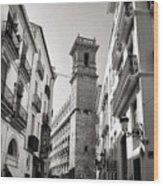 Calle Serranos In Valencia Wood Print