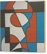 Calypso Wood Print