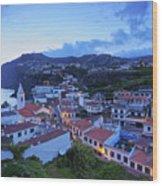 Camara De Lobos, Madeira Wood Print
