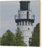 Cana Island Lighthouse Wood Print