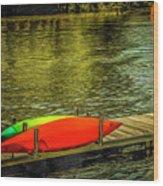 Canal De Lachine Wood Print