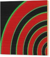 Candid Color 1 Wood Print