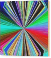 Candid Color 8 Wood Print