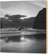 Cannon Beach 6118 Wood Print