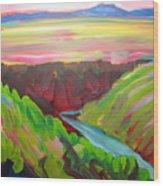 Canyon Dreams 8 Wood Print
