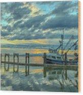 Cape Purse Seiner Wood Print