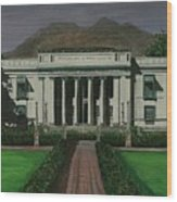 Capitol Building Negros Oriental Wood Print