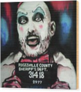Captain Spaulding Wood Print