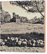 Captain William Smith House Wood Print