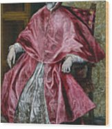 Cardinal Fernando Nino De Guevara Wood Print