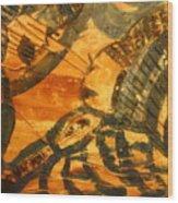 Care - Tile Wood Print