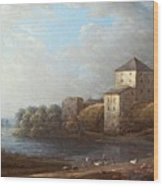 Carl Johan Wood Print
