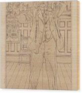 Carl Larsson Wood Print