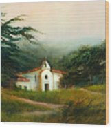 Carmel Monastery Wood Print