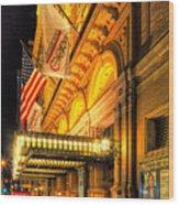 Carnegie Hall Wood Print