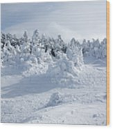 Carter Dome - White Mountains New Hampshire Usa Wood Print
