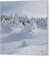 Carter Dome - White Mountains New Hampshire Usa Wood Print