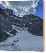 Cascade Mountain Wood Print
