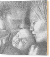 Cassiday Family 1  Wood Print