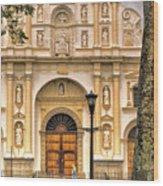 Catedral Antigua Guatemala - Guatemala Vii Wood Print
