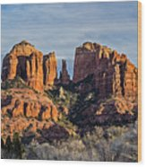 Cathedral Rock, Sedona - 2 Wood Print