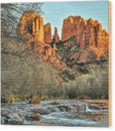 Cathedral Rock, Sedona Wood Print
