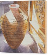 Celestial Hall Pottery II Wood Print