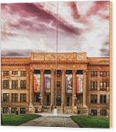 Central High School - Pueblo Colorado Wood Print