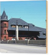 Central New Jersey Railroad Station Wood Print