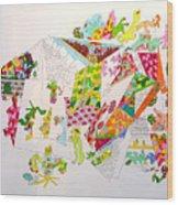Central Park 2099 Wood Print