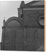 Cesena - Italy - The Cathedral  Wood Print