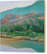 Chama River Wood Print by Cap Pannell