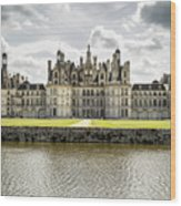 Chambord Castle Wood Print
